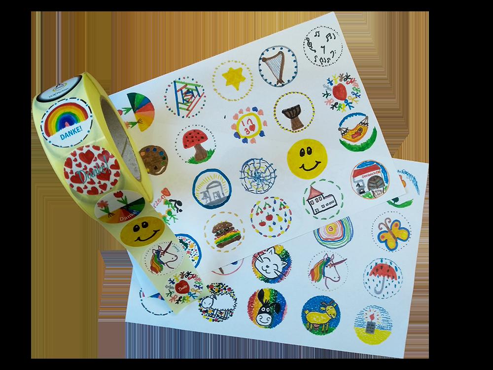 Sticker Zeichnungen