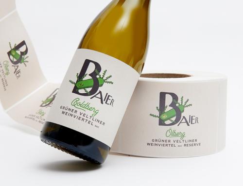 Nachhaltige Papiere für edle Weinetiketten