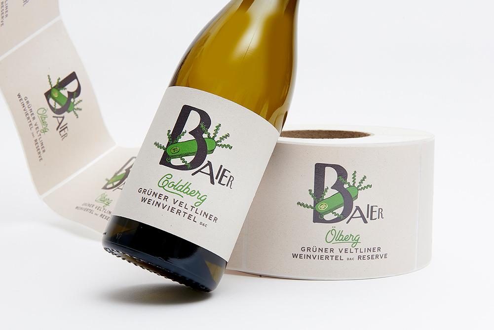 Weingut Baier Etikette
