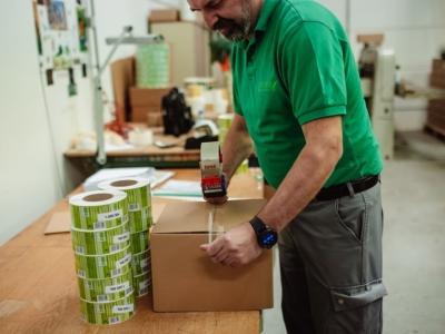 Etikettendruckerei